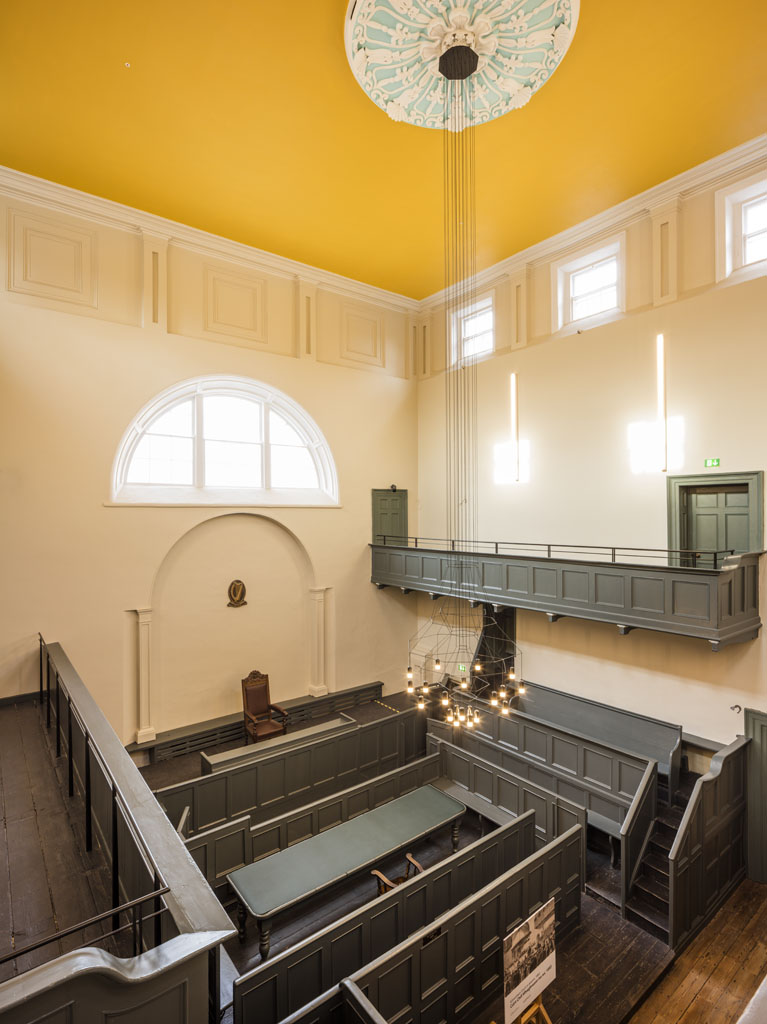 Balustrades to Courtroom