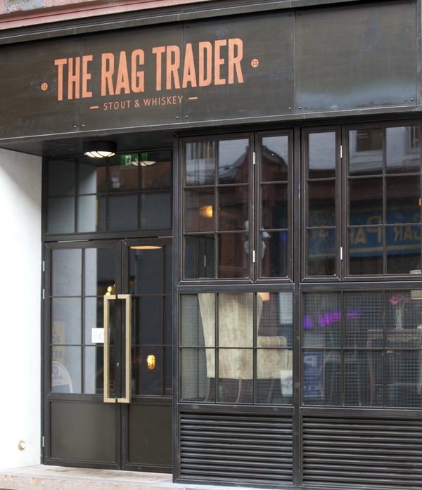 New shop front to The Rag Trader on Dublin's Drury Street