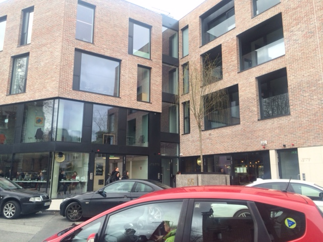 Frameless glass balustrades at Percy Place, Dublin