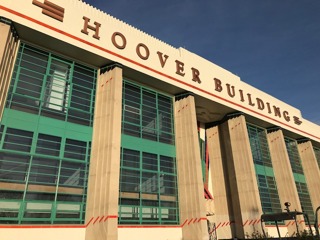 Front elevation of The Hoover Building, London